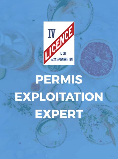PERMIS EXPLOITATION EXPERT