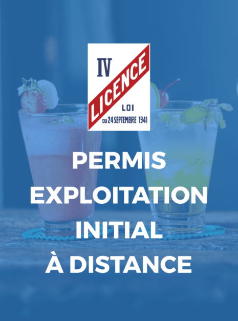 PERMIS EXPLOITATION INITIAL A DISTANCE