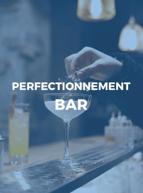 perfectionnement bar